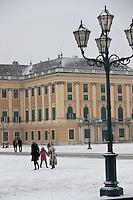 Europe/Autriche/Niederösterreich/Vienne:Le Palais de Schönbrunn, Château de Sissi l'Impératrice