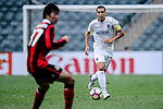 Auckland City Defender Angel Berlanga during the 2017 Lunar New Year Cup match between Auckland City FC (NZL) vs FC Seoul (KOR) on January 28, 2017 in Hong Kong, Hong Kong. Photo by Marcio Rodrigo Machado/Power Sport Images