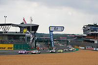 #57 TEAM PROJECT 1 (DEU) PORSCHE 911 RSR LM GTE AM  BEN KEATING (USA) FELIPE FRAGA (BRA) JEROEN BLEEKEMOLEN (NLD)