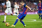 FC Barcelona's Andres Iniesta during spanish La Liga match between Futbol Club Barcelona and Real Madrid  at Camp Nou Stadium in Barcelona , Spain. Decembe r03, 2016. (ALTERPHOTOS/Rodrigo Jimenez)