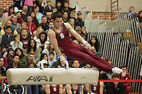STANFORD, CA - JANUARY 24:  Kyle Oi of the Stanford Cardinal during the Stanford Open on January 24, 2009 at Burnham Pavilion in Stanford, California.