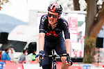 Dylan Van Baarle (NED) Ineos Grenadiers crosses the finish line in 4th place at the end of Stage 14 of the Vuelta Espana 2020, running 204.7km from Lugo to Ourense, Spain. 4th November 2020. <br /> Picture: Luis Angel Gomez/PhotoSportGomez | Cyclefile<br /> <br /> All photos usage must carry mandatory copyright credit (© Cyclefile | Luis Angel Gomez/PhotoSportGomez)