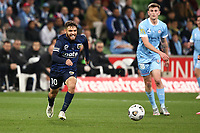 22nd May 2021, Melbourne, Australia;  Daniel De Silva of the Central Coast Mariners breaks after the ball during the Hyundai A-League football match between Melbourne City FC and Central Coast Mariners at AAMI Park in Melbourne, Australia.