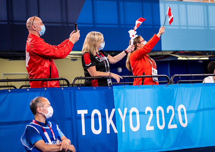 Tokyo 2020 - Boccia.<br /> Canada competes against Slovakia in pairs BC4 boccia // Le Canada affronte la Slovaquie en paires de boccia BC4. 09/03/2021.