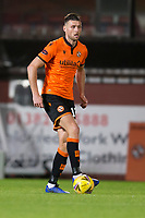 2nd October 2020; Tannadice Park, Dundee, Scotland; Scottish Premiership Football, Dundee United versus Livingston; Ryan Edwards of Dundee United looks for a passing outlet