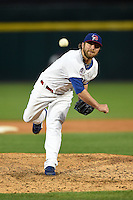 Buffalo Bisons pitcher Kyle Drabek (4) delivers a pitch during a game against the Syracuse Chiefs on July 23, 2014 at Coca-Cola Field in Buffalo, New  York.  Syracuse defeated Buffalo 5-0.  (Mike Janes/Four Seam Images)