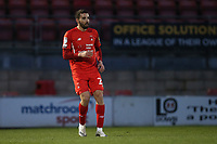Nick Freeman of Leyton Orient during Leyton Orient vs Forest Green Rovers, Sky Bet EFL League 2 Football at The Breyer Group Stadium on 23rd January 2021