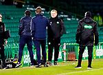 Celtic v St Johnstone…06.12.20   Celtic Park      SPFL<br />Callum Davidson and Neil Lennon at full time<br />Picture by Graeme Hart.<br />Copyright Perthshire Picture Agency<br />Tel: 01738 623350  Mobile: 07990 594431