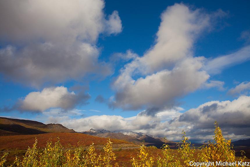 Autumn Cloudscape, Denali National Park
