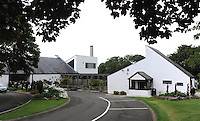"""COPY BY TOM BEDFORD<br /> Pictured: Parc Gwyn Crematorium in Pembrokeshire, Wales, UK<br /> Re: A midwife had her dying wish granted when an undertaker she delivered more than 50 years ago arranged her funeral in Haverfordwest, Pembrokeshire.<br /> Joan Phillips told undertaker Robin Folland: """"I brought you into the world so I want you to take me out of it.""""<br /> The pair joked about the unusual arrangement for years when they saw each other in the street.<br /> But when Joan passed away aged 88 Robin stepped in to give her a good send off.<br /> Robin, 54, said: """"Joan lived nearby and when my mum went into labour she was there to deliver me.<br /> """"When I started working for my dad's funeral company Joan told me I had to look after her when the time came.<br /> """"She used to say that she brought me into the world so I had to take her out of it."""