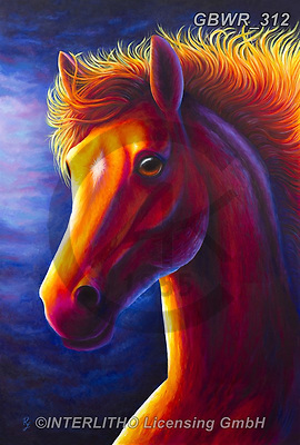 Simon, REALISTIC ANIMALS, REALISTISCHE TIERE, ANIMALES REALISTICOS, innovativ, paintings+++++RachelFroud_Horse,GBWR312,#a#, EVERYDAY