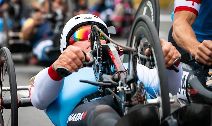 Rico Morneau - Lima 2019. Para Cycling // Paracyclisme.<br /> Rico Morneau competes in the road race // Rico Morneau participe à la course sur route. 01/09/2019.