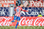Fernando Torres of Atletico de Madrid celebrates during their La Liga match between Atletico de Madrid and Deportivo Leganes at the Vicente Calderón Stadium on 04 February 2017 in Madrid, Spain. Photo by Diego Gonzalez Souto / Power Sport Images