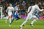 Espanyol´s Javi Lopez during 2015/16 La Liga match between Real Madrid and Espanyol at Santiago Bernabeu stadium in Madrid, Spain. January 31, 2016. (ALTERPHOTOS/Victor Blanco)