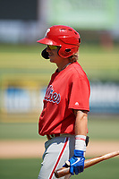 Philadelphia Phillies Bryson Stott (10) during an Instructional League intrasquad game on September 28, 2019 at Spectrum Field in Clearwater, Florida.  (Mike Janes/Four Seam Images)