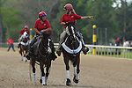 April 11, 2015: Scenery in the Arkansas Derby at Oaklawn Park in Hot Springs, AR. Justin Manning/ESW/CSM