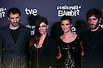 Premiere in Barcelona: ¿Quien mato a Bambi?<br /> Julian Villagran, Ursula Corbero, Clara Lago & Quim Gutierrez.