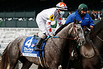 "October 02, 2020 : #4 Crazy Beautiful and jockey Brian Joseph Hernandez Jr. finish 2nd in the 69th running of The Darley Alcibiades (Grade 1) ""Win and You're In Breeders' Cup Juvenile Fillies Division"" $350,000 at Keeneland Racecourse in Lexington, KY on October 02, 2020.  Candice Chavez/ESW/CSM"