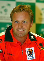20-9-06,Leiden, Daviscup Netherlands-Tsjech Republic, Dutch captain Tjerk Bogtstra