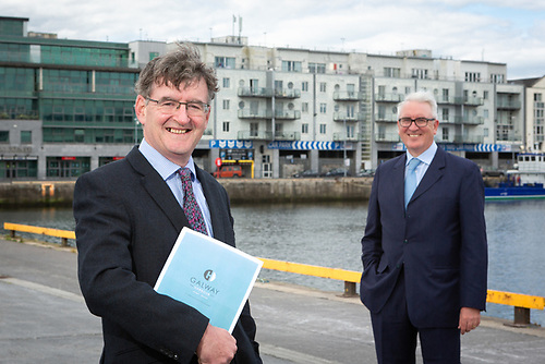 (L-R) Conor O'Dowd, CEO, Galway Harbour Company & Maurice O'Gorman, Chairperson, Galway Harbour Company
