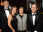 From left: Steve and June Christensen with Kathy Kilian and honoree Karl Kilian at the SPA's Forever Paris Gala at the Wortham Theater Saturday March 29, 2014.(Dave Rossman photo)