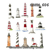 Kate, MASCULIN, MÄNNLICH, MASCULINO,lighthouse,lighthouses, paintings+++++Lighthouses 1.,GBKM606,#m#, EVERYDAY