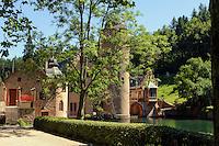 Schloss Mespelbrunn (16.JH.)  im Spessart, Bayern, Deutschland