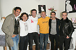 Oscar Higares, David Andrade, Jesus Olmedo, Jordi Rebello, Dani Muriel and Ramoncin attend the presentation of the first shop in Madrid of Nerea Garmendia Brand By Nerea, Spain. January 13 2015. (ALTERPHOTOS/Carlos Dafonte)