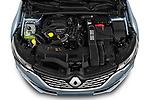 Car Stock 2021 Renault Talisman Intens 4 Door Sedan Engine  high angle detail view