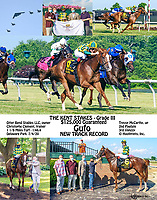 Gufo winning The Grade 3 Kent Stakes at Delaware Park on 7/4/20 in New Track Record time of 1:46.4 for 1 1/8 Miles on the Turf.<br /> To see more versions search: Gufo, winphoto