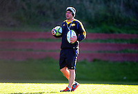Assistant coach Jason Holland. Hurricanes super rugby training at Rugby League Park, Wellington, New Zealand on Tuesday, 12 July 2016. Photo: Dave Lintott / lintottphoto.co.nz