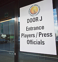 09-02-13, Tennis, Rotterdam, qualification ABNAMROWTT, Entrance