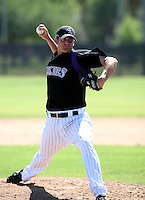 Tyler Trice / Colorado Rockies 2008 Instructional League..Photo by:  Bill Mitchell/Four Seam Images
