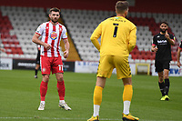 Danny Newton of Stevenage F.C. during Stevenage vs Salford City, Sky Bet EFL League 2 Football at the Lamex Stadium on 3rd October 2020