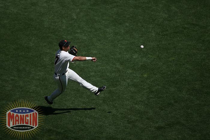 Pedro Feliz. Baseball: Cincinnati Reds vs San Francisco Giants at AT&T Park in San Francisco, CA on August 26, 2006. Photo by Brad Mangin