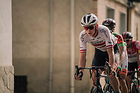 Latvian champion Krists Neilands (LAT/Israel Cycling Academy)<br /> <br /> 99th Milano - Torino 2018 (ITA)<br /> from Magenta to Superga: 200km