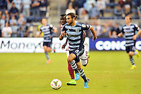 Kansas City, Kansas - Thursday, Sept. 18, 2014: Sporting Kansas City defeated Deportivo Saprissa 3-1 in a CONCACAF Champions League match at Sporting Park.