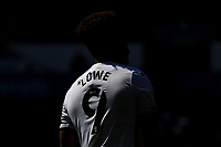 Jamal Lowe of Swansea City during the Sky Bet Championship match Swansea City and Wycombe Wanderers at Liberty Stadium in Swansea, Wales. Sporting stadiums around the UK remain under strict restrictions due to the Coronavirus Pandemic as Government social distancing laws prohibit fans inside venues resulting in games being played behind closed doors.<br /> Saturday 17 April 2021