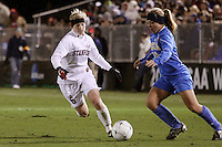 COLLEGE STATION, TX - DECEMBER 4:  Alicia Jenkins of the Stanford Cardinal during Stanford's 2-1 (OT) win over the UCLA Bruins in the NCAA Women's Soccer Championships semi-finals on December 4, 2009 in College Station, Texas.