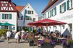 Deutschland, Bayern, Oberbayern, Naturpark Altmuehltal, Beilngries: Sipl's Kaffee- und Brothaus | Germany, Upper Bavaria, Natur Park Altmuehl Valley, Beilngries: Sipl's Coffee- and Bread-House
