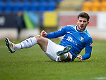St Johnstone v Celtic…03.02.19…   McDiarmid Park    SPFL<br />Matty Kennedy reacts after missing a first half chance to score<br />Picture by Graeme Hart. <br />Copyright Perthshire Picture Agency<br />Tel: 01738 623350  Mobile: 07990 594431
