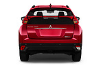 Straight rear view of 2020 Mitsubishi Eclipse-Cross BLACK-Collection+ 5 Door SUV Rear View  stock images