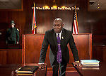 Tallahassee personal injury and civil rights attorney Benjamin Crump at his office in Tallahassee, FL.
