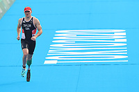 28th August 2021; Tokyo, Japan; Michael Taylor (GBR),  Triathlon : <br /> Men's PTS4 during the Tokyo 2020 Paralympic Games at the Odaiba Marine Park in Tokyo, Japan.