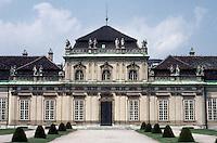 Vienna: The Lower Belvedere Palace, 1714-1716 by Johann Lukas Von Hildebrandt. Photo '87.