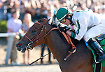 Ultra Blend and Tyler Baze win the Clement L. Hirsch Stakes(GI) at Del Mar Thoroughbred Club in Del Mar, CA.  August 06, 2011