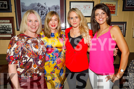 Caroline Quill Kelly, Kelly Ann Roundtree, Louise Quill and Karen Healy enjoying the evening in the Mall Tavern on Saturday.