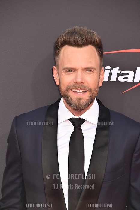 LOS ANGELES, USA. July 10, 2019: Joel McHale at the 2019 ESPY Awards at the Microsoft Theatre LA Live.<br /> Picture: Paul Smith/Featureflash