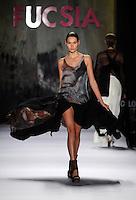 MEDELLIN -COLOMBIA -22-Julio -2014. Colombia Moda, desflie de la coleccion Fucsia./ Colombia Fashion geteway collection of Fucsia. Photo: VizzorImage / Luis Rios / Stringer