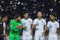 SAN SALVADOR, EL SALVADOR - SEPTEMBER 2: USA starting eleven during a game between El Salvador and USMNT at Estadio Cuscatlán on September 2, 2021 in San Salvador, El Salvador.